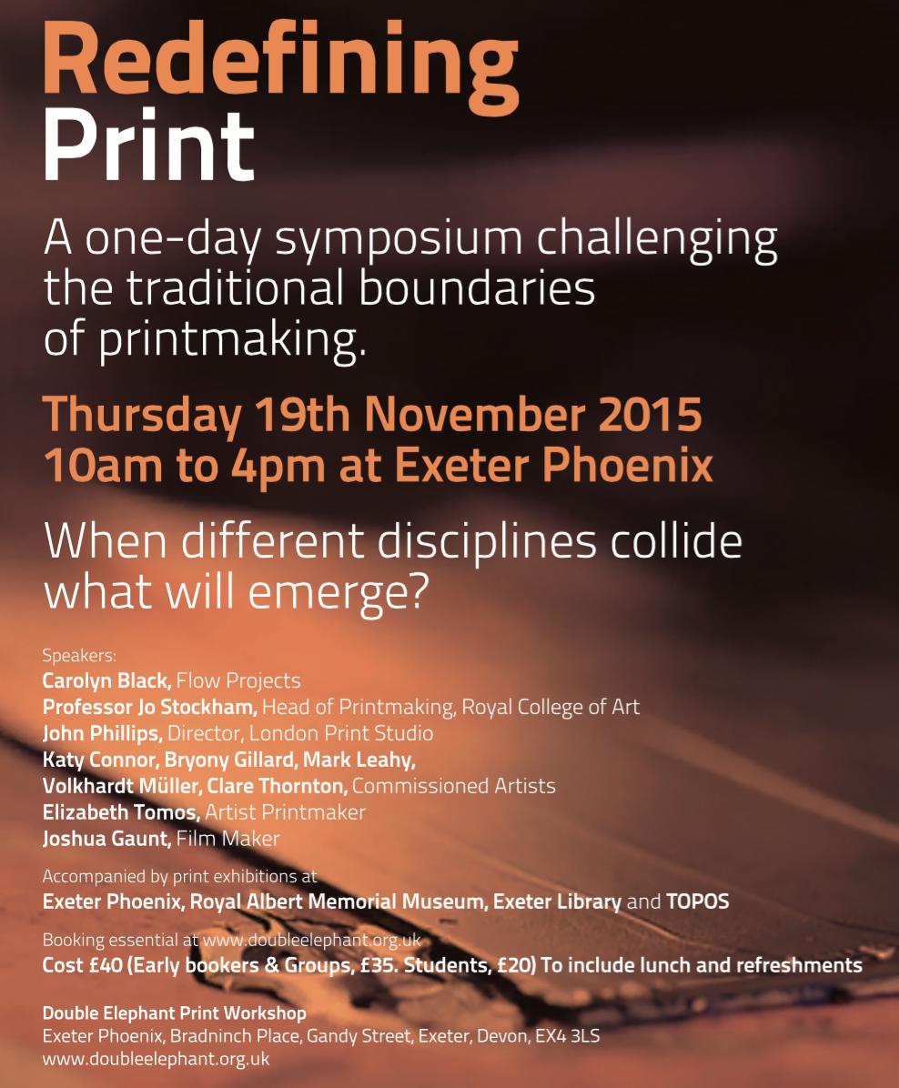 Redefining Print